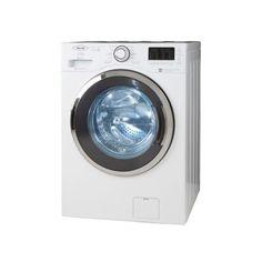 Lavadora secadora 26 libras carga frontal blanca