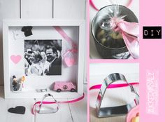 Perfekt für die After Wedding Party, als tolle Erinnerung für alle Hochzeitspaare ... die Wedding Erinnerungs-Festhalte-Box ... perfect gift after the marriage