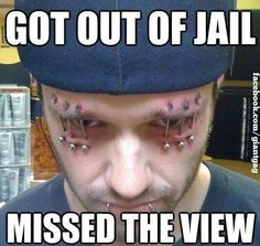 Missed The View Of Jail ...,  Click the link to view today's funniest pictures!