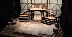 Equivocation. Shakes - Equivocation. Shakespeare Theatre of New Jersey. Scenic design by Michael Schweikardt. 2015 --- #Theaterkompass #Theater #Theatre #Schauspiel #Tanztheater #Ballett #Oper #Musiktheater #Bühnenbau #Bühnenbild #Scénographie #Bühne #Stage #Set