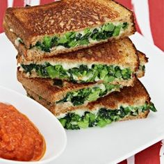 Whole-wheat grilled cheese #CatsSayCheese D-LISH!
