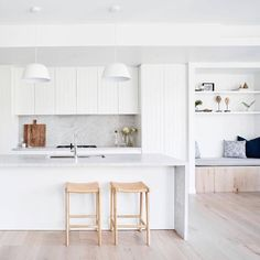 from - A light, bright soothing pallet for this devel. - Surrounding Australia - from – A light, bright soothing pallet for this development. Home Decor Kitchen, Home Kitchens, Kitchen Chairs, Interior Desing, Interior Design Kitchen, Interior Livingroom, Minimalist Kitchen, Minimalist Decor, Küchen Design