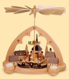 Seiffen Erzgebirge Pyramid Cabaret! ORIGINAL handmade in Seiffen | eBay