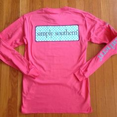 Long Sleeve Simply Southern Pocket Tee Shirt Brand new. Price is firm unless bundled. Simply Southern Tops Tees - Long Sleeve