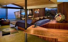 Breathtaking views, a rejuvenating atmosphere, and deluxe amenities—that it what guests of this California cabin rental can expect. This luxury camping site in Northern California is perched on the magnificent cliffs of Big Sur, offering unforgettable views and an unparalleled atmosphere. This unusual camping experience allows guests to sleep in a bedroom with glass walls, so their glamping retreat is sure to be enchanting and exquisite. Not only does this site have two heated infinity…