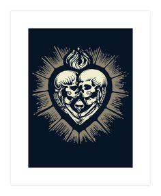 Love Beyond Death Art Print