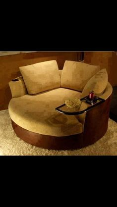 Cozy. Lots of these in a theatre room sounds heavenly