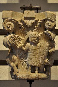 Capitell de Sant Pere de Rodes. Museu dArt de Girona