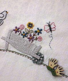 Bloque 3. Mistery BOM Château  Hexagon de Lynette Anderson Elsa, Mystery, Scrappy Quilts, Punto De Cruz, Dots, Needlepoint