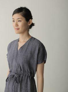 f8cce47f798 Lois Dress  Navy Plaid – Shop Fog Linen Fog Linen