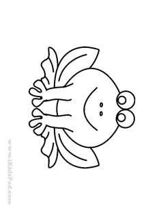 Easy Coloring Pages For Preschool Kids - Free Printable Coloring ...