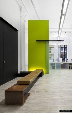 Bureau 100 in Quebec // NFOE et Associés Architectes | Afflante.com // #bafco #bafcointeriors Visit www.bafco.com for more inspirations.