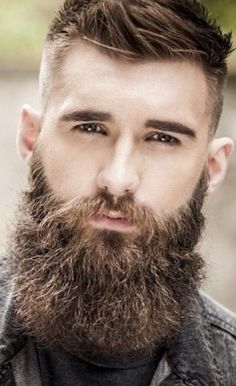 Good morning all! What you do everyday matters more than what you do once in a while Beard Styles For Men, Hair And Beard Styles, Hairy Men, Bearded Men, Grey Beards, Hipster Beards, Types Of Beards, Beard Shampoo, Beard Model