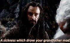 Thorin so handsome DOS gif