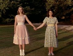 """heavenly creatures. """"I think I'm going crazy."""" """" no you're not Gina. It's everyone else who's bonkers."""""""