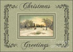 #Christmas #Greetingcards #vintage #JHughesDesigns