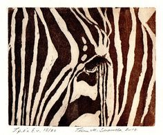 Constantly cautious / Original etching