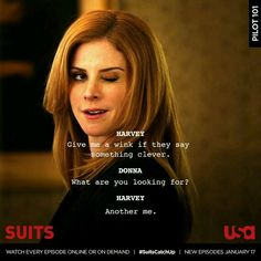 Suits Tv Show - Fushion News Serie Suits, Suits Tv Series, Harvey Specter Suits, Suits Harvey, Suits Show, Suits Tv Shows, Flirting Quotes For Her, Flirting Memes, Donna Paulsen