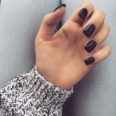 this is the ugliest nail shape I've ever seen