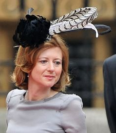 Fascinators were the rage at the royal wedding