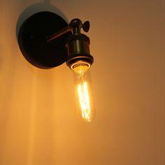 Antique Dimmable Light Bulb Vintage Light Bulbs, Vintage Lighting, Dimmable Light Bulbs, Light Fixtures, Sconces, Wall Lights, Antiques, Vintage Lamps, Antiquities