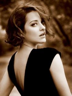 Marion Cotillard...so I know she's not a man but I totally have a girl crush on her