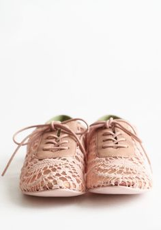 Neat Crochet Oxfords By Blowfish
