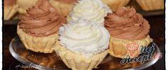 Rakvičkové košíčky se šlehačkou Muffin, Breakfast, Desserts, Food, Morning Coffee, Tailgate Desserts, Deserts, Essen, Muffins