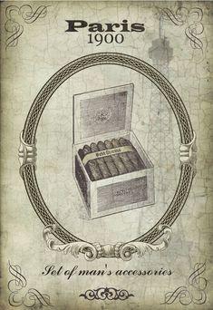 Paris 1900 Man's Accessories ~ Todo transfer (pág. 202)   Aprender manualidades es facilisimo.com