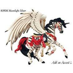 carousel horses fashion   MOONLIGHT SILVER ~ Nene Thomas Carousel Horse ~ Fantasy...   Shop home ...