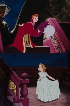 Peter Pan and Wendy Darlingsley