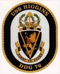 USS Higgins (DDG-76) ship`s crest