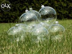 Globuri de sticla simple transparente Fuleki Glass - Cluj Jucu - imagine 1 Glass Christmas Ornaments, Glass Ball, Balls, Vase, Home Decor, See Through, Decoration Home, Room Decor, Vases