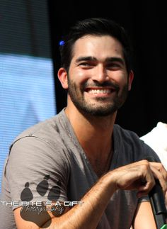 Tyler Hoechlin- he looks so mischievous and like he knows something you don't in this picture... i like