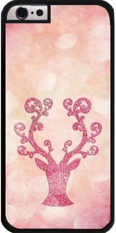 GrabYourDesign - Case for Iphone 6/6S Pink Glitter deer - by UtArt  #iphone #android #toughcase #slimcase #powercase #Society6 #iphonecase #phonecase #iphone6s #iphonecase  #girly #betterhome #utart  #sparkles #she  #pastel #pretty  #girlscase #gold #glitter #chevron #design #girls #woman #christmas #sparkle #holidays #gift
