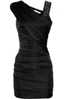 most adorable little black dress ever. as UNgirly as I am and so not the dress up type... even I NEED this.