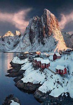 Lofoten, Noruega.