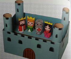 3d knutsel: kasteel