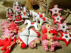 Staročeské Vánoce - kolekce ozdob