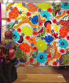 WOW, what talent to make a quilt like this