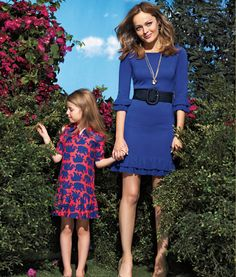 Coordinated daughter-mother outfits - Lilly Pulitzer - Lookbook