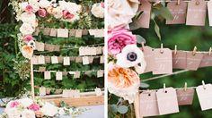 Un plan de table floral