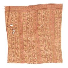 A Chancay Painted Textile Panel, ca. 1100-1400 A.D., Painted in brown, red, blue and yellow with
