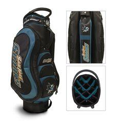 San Jose Sharks Medalist Golf Cart Bag