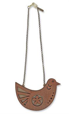 colar piu piu | zellig | coleção pássaros