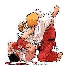 Brazilian Jiu Jitsu Logo Design by MinohKim on DeviantArt