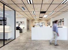 這間澳洲辦公室的天花板,很有氣質   小院,關於家的設計