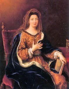 Francoise d'Aubigne, Marquise de Maintenon by Pierre Mignard