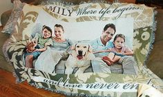 nice Lovely Custom Photo Blanket 12 With Additional Home Decorating Ideas with Custom Photo Blanket