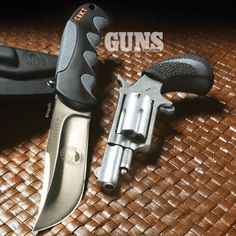Talo Tucker Trailmaster gun/knife combo from North American Arms and CRKT | GUNS Magazine Combat .22 Rimfire 2015 Special Edition | CLICK HERE: http://www.fmgpubs.com/22book | #edc #everydaycarry #crkt #northamericanarms #naa #combo